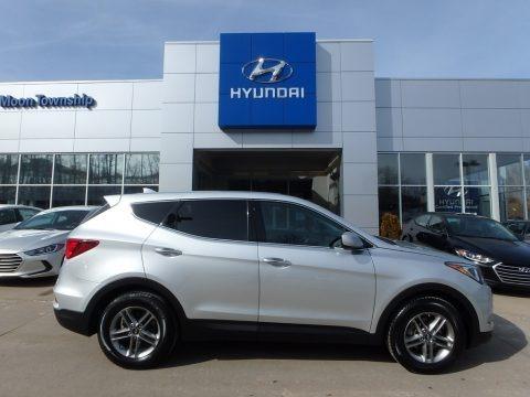 Sparkling Silver 2017 Hyundai Santa Fe Sport AWD