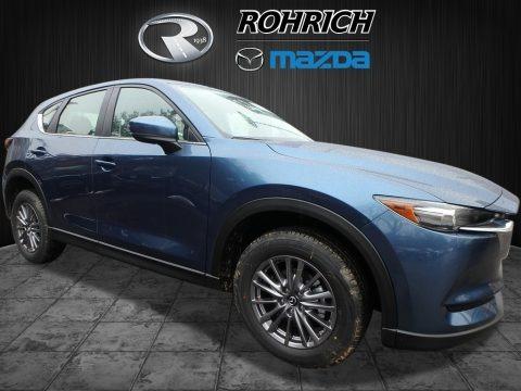 Eternal Blue Metallic 2018 Mazda CX-5 Sport AWD