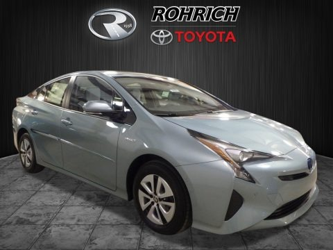 Sea Glass Pearl 2018 Toyota Prius Four