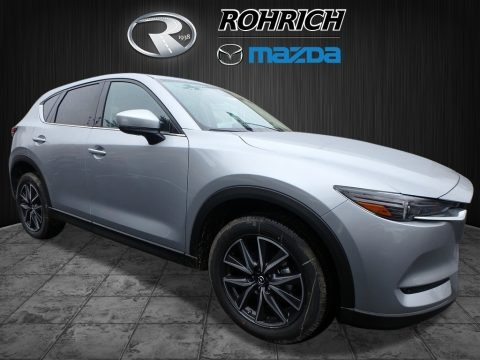 Sonic Silver Metallic 2018 Mazda CX-5 Grand Touring AWD
