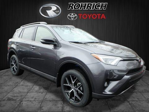 Magnetic Gray Metallic 2018 Toyota RAV4 SE AWD