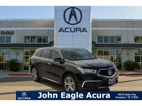 Crystal Black Pearl 2018 Acura MDX AWD