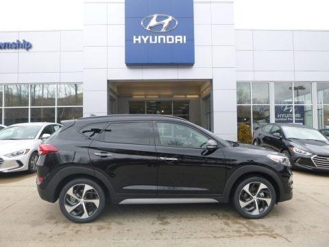 Black Noir Pearl 2018 Hyundai Tucson Limited AWD