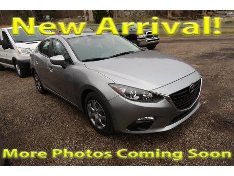 Liquid Silver Metallic 2014 Mazda MAZDA3 i Sport 4 Door