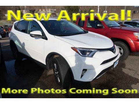 Super White 2016 Toyota RAV4 XLE AWD