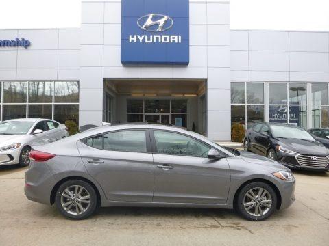 Galactic Gray 2018 Hyundai Elantra Value Edition