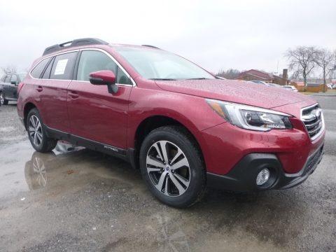 Crimson Red Pearl 2018 Subaru Outback 2.5i Limited