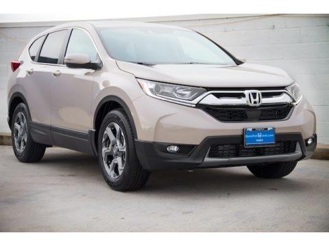 Sandstorm Metallic 2018 Honda CR-V EX-L