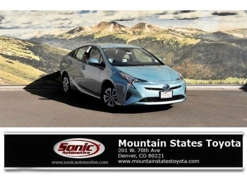 Sea Glass Pearl 2018 Toyota Prius Two