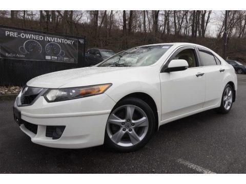 Premium White Pearl 2009 Acura TSX Sedan