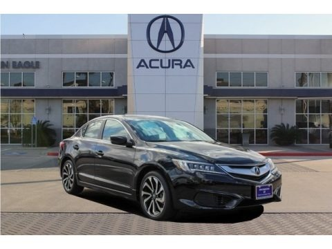 Crystal Black Pearl 2018 Acura ILX Special Edition