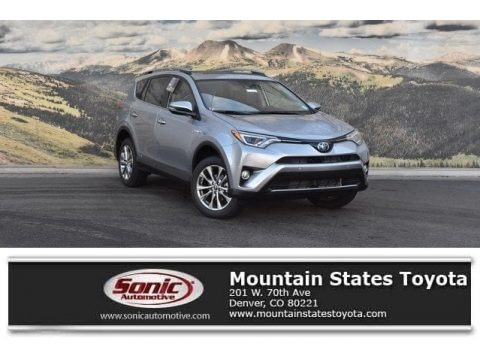 Silver Sky Metallic 2018 Toyota RAV4 Limited AWD Hybrid