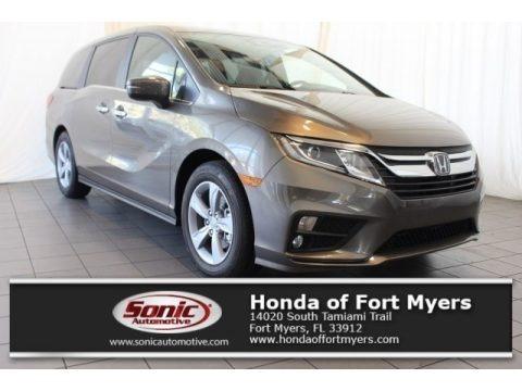 Pacific Pewter Metallic 2018 Honda Odyssey EX-L
