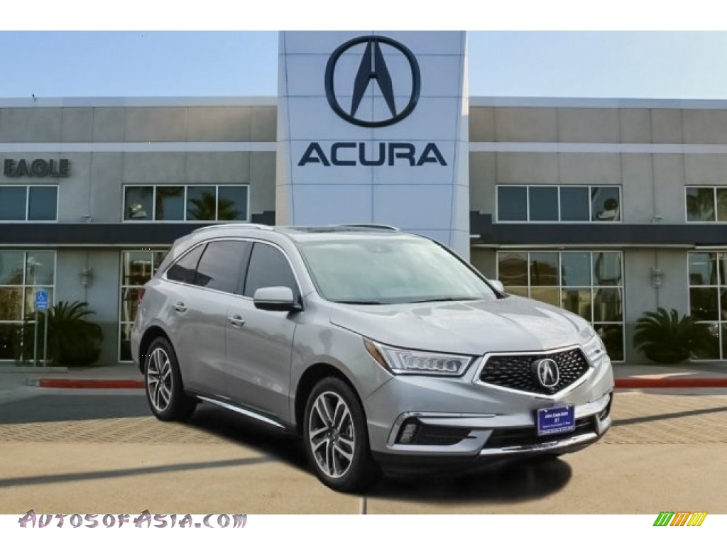 2017 MDX Advance SH-AWD - Lunar Silver Metallic / Graystone photo #1