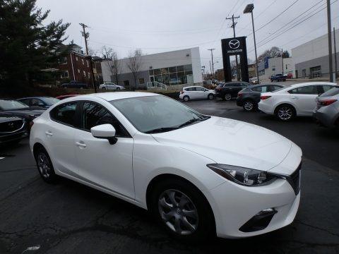 Snowflake White Pearl 2014 Mazda MAZDA3 i Sport 4 Door