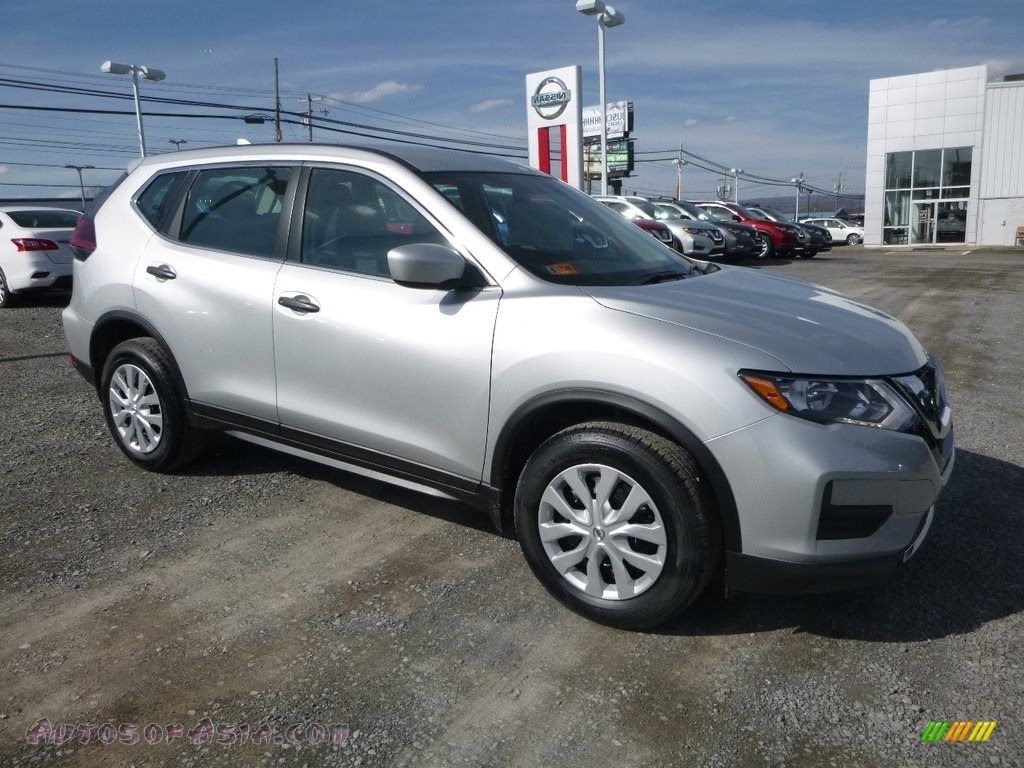 2018 Rogue S AWD - Brilliant Silver / Charcoal photo #1