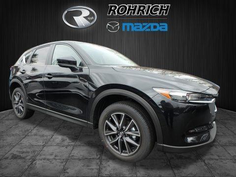Jet Black Mica 2018 Mazda CX-5 Touring AWD