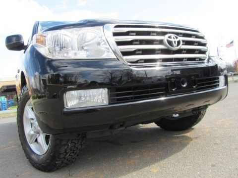 Black 2008 Toyota Land Cruiser