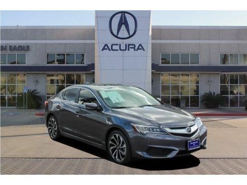 Modern Steel Metallic 2018 Acura ILX Special Edition