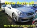 Infiniti G 35 x Sedan Liquid Platinum Silver photo #1