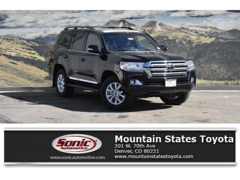 Midnight Black Metallic 2018 Toyota Land Cruiser 4WD