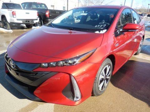 Hypersonic Red 2018 Toyota Prius Prime Premium