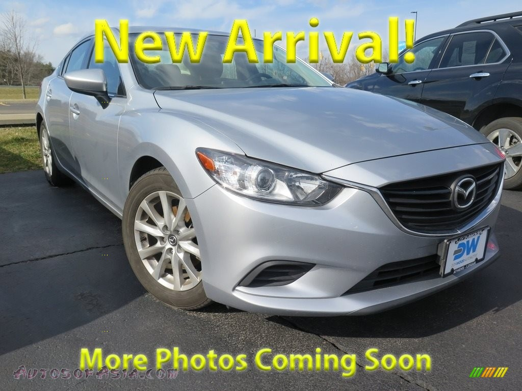 2016 Mazda6 Sport - Sonic Silver Metallic / Black photo #1