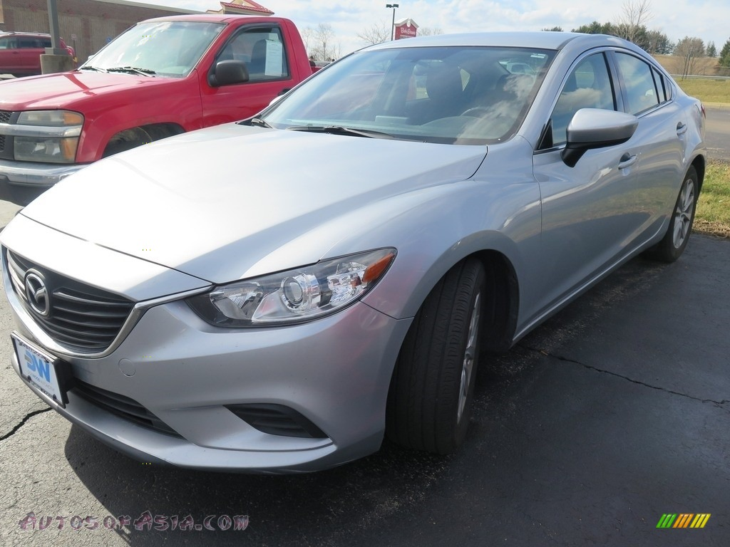 2016 Mazda6 Sport - Sonic Silver Metallic / Black photo #3