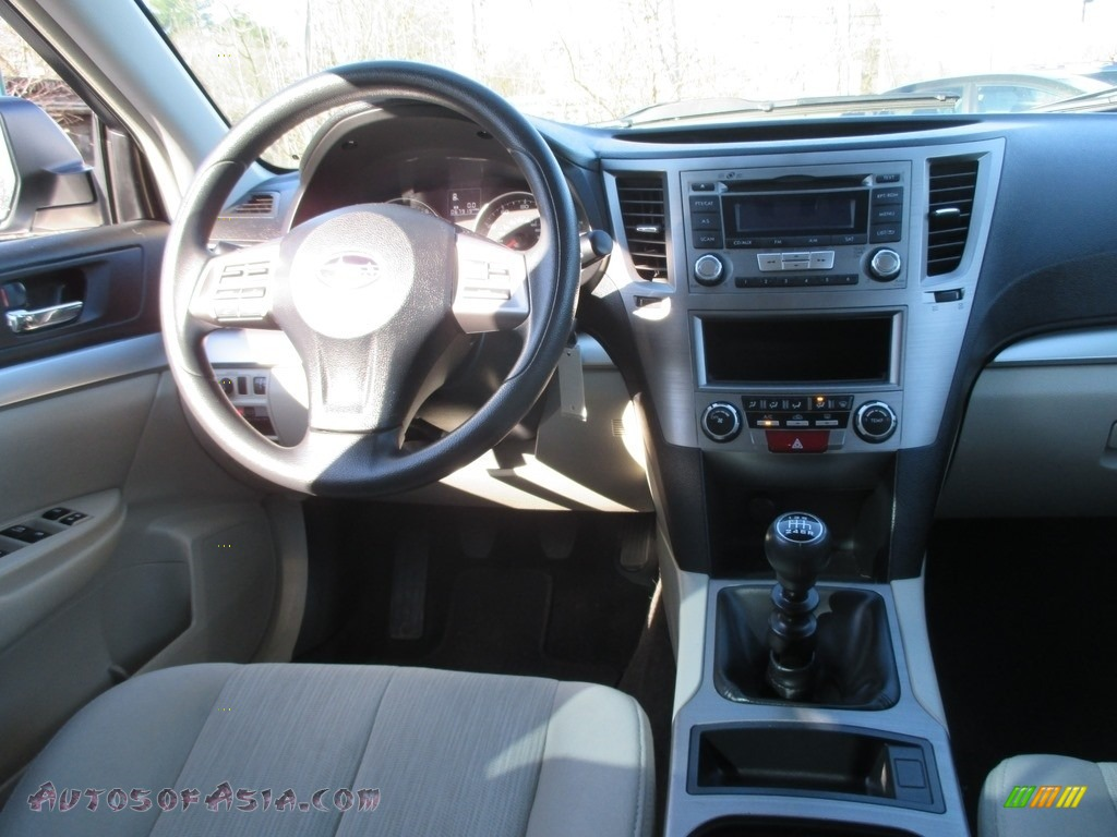 2014 Outback 2.5i Premium - Satin White Pearl / Ivory photo #10