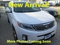 Kia Sorento SX V6 AWD Snow White Pearl photo #1