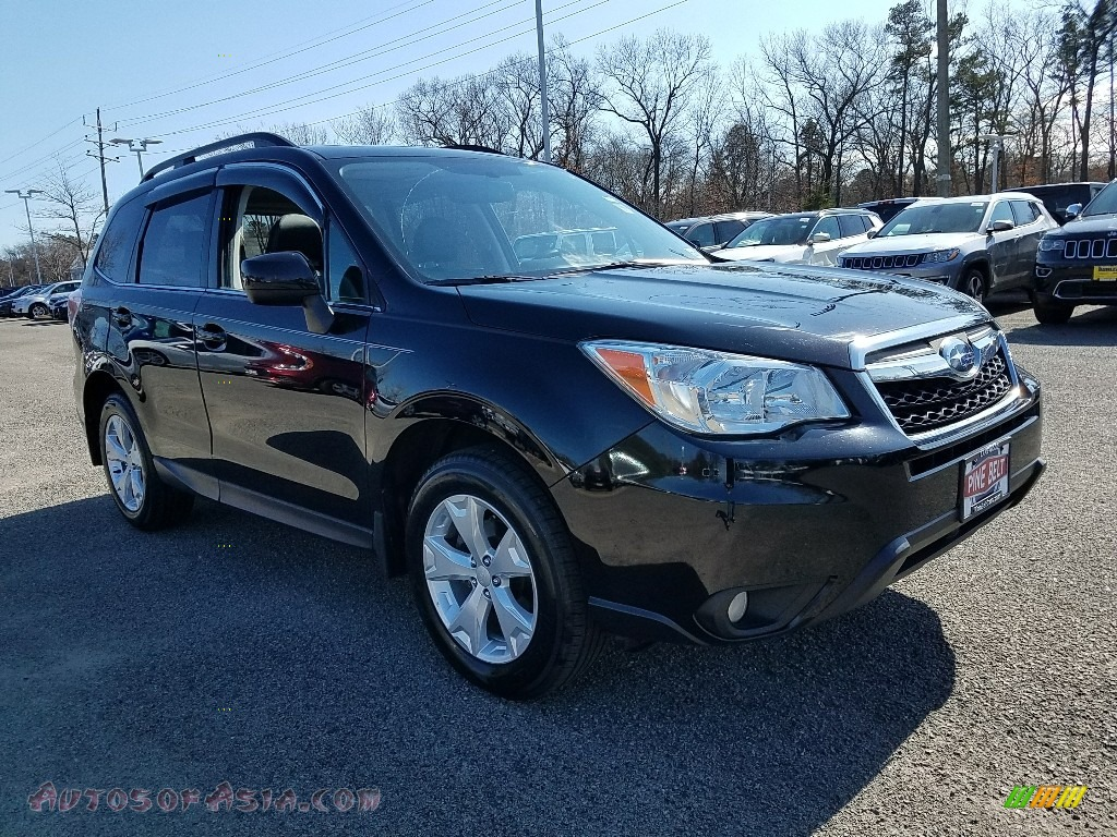 2016 Forester 2.5i Limited - Crystal Black Silica / Black photo #1