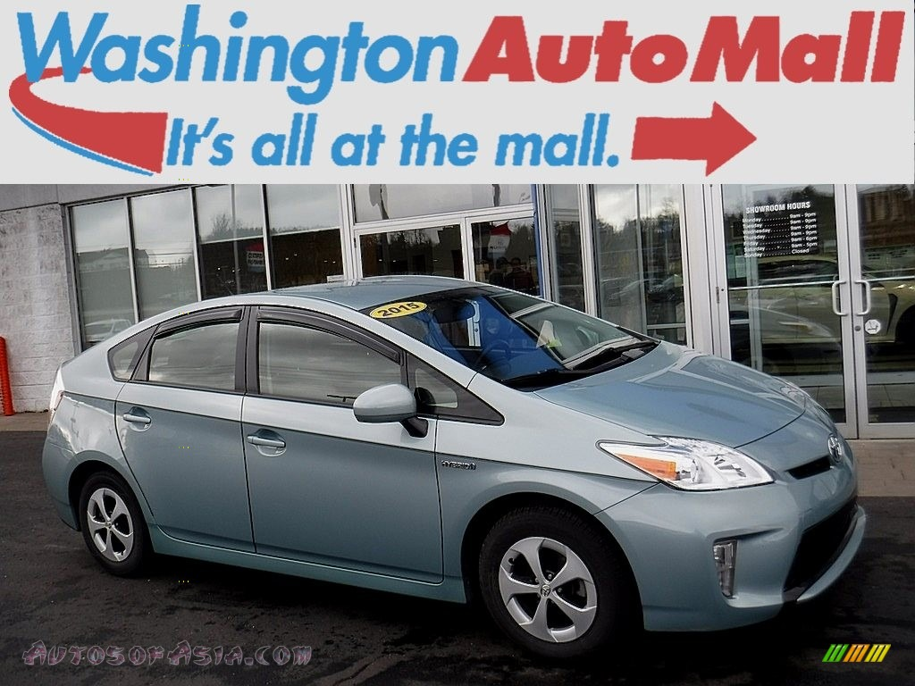 Sea Glass Pearl / Misty Gray Toyota Prius Four Hybrid