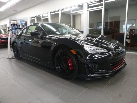 Crystal Black Silica 2018 Subaru BRZ tS