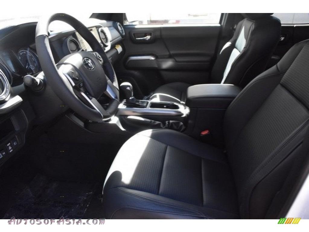 2018 Tacoma Limited Double Cab 4x4 - Super White / Black photo #6