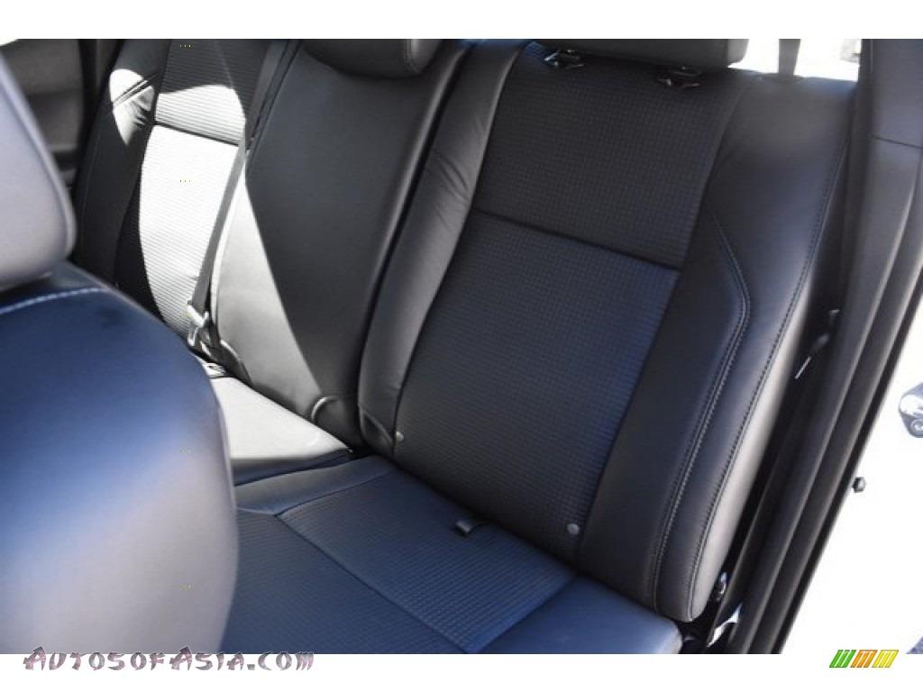 2018 Tacoma Limited Double Cab 4x4 - Super White / Black photo #16