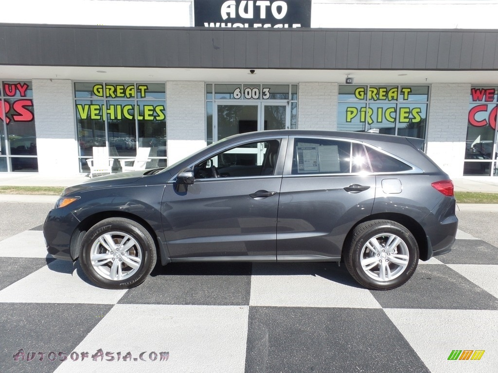 Graphite Luster Metallic / Parchment Acura RDX Technology