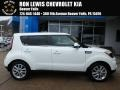 Kia Soul + Clear White photo #1