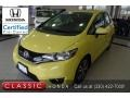 Honda Fit EX Mystic Yellow Pearl photo #1