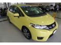 Honda Fit EX Mystic Yellow Pearl photo #3