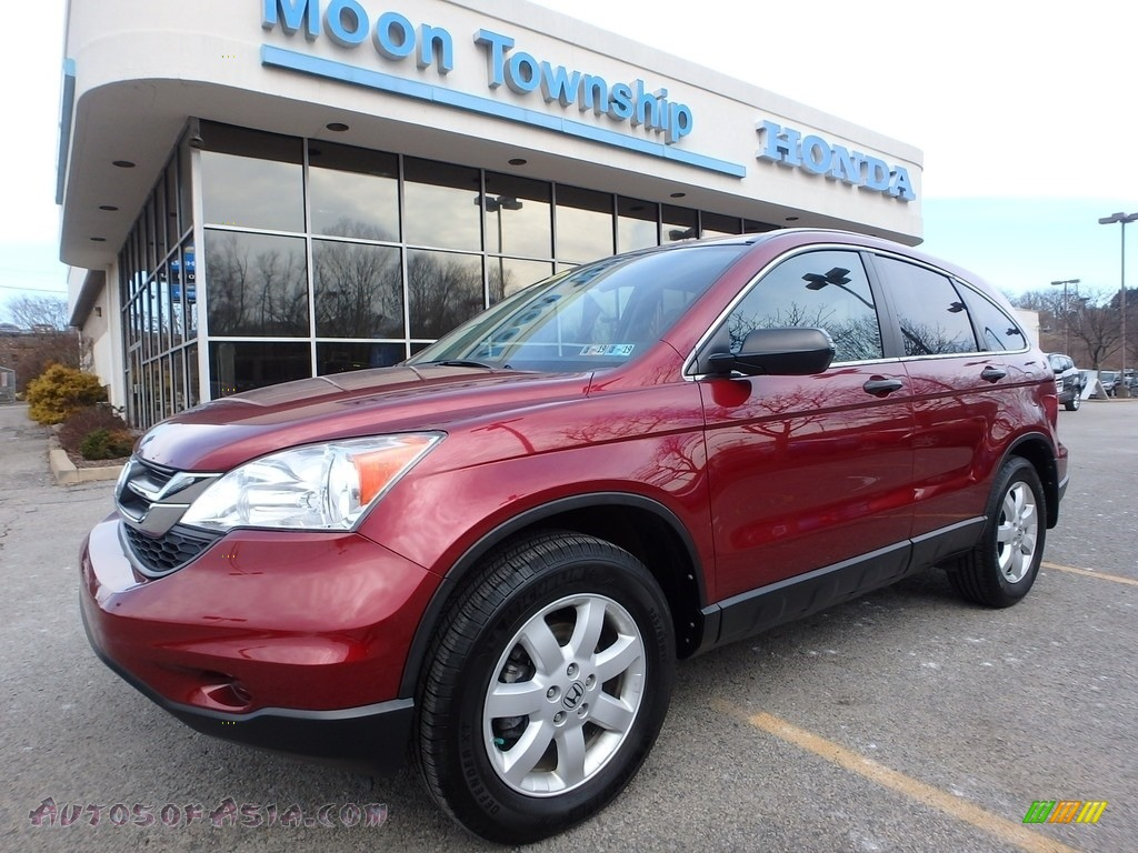 2011 CR-V SE 4WD - Tango Red Pearl / Gray photo #1