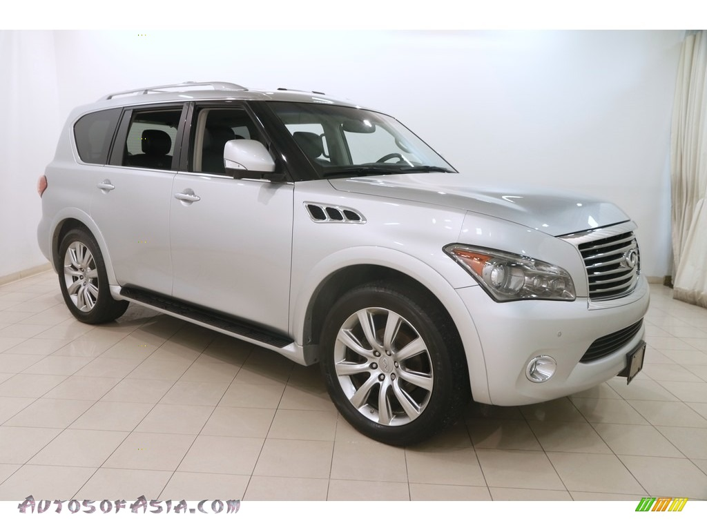 2011 QX 56 4WD - Liquid Platinum / Graphite photo #1