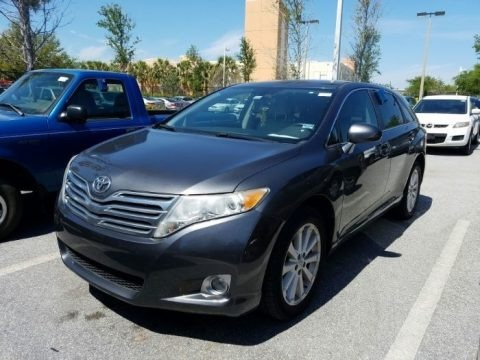 Magnetic Gray Metallic 2011 Toyota Venza I4