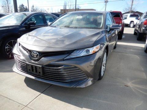 Predawn Gray Mica 2018 Toyota Camry XLE