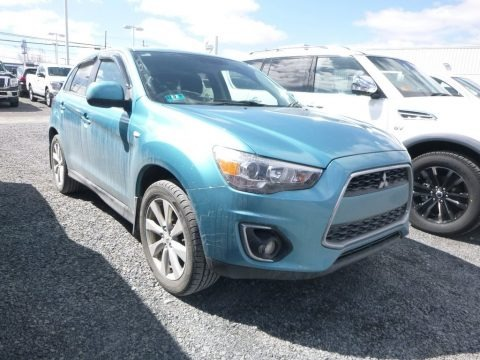 Rally Red 2015 Mitsubishi Outlander Sport SE AWC