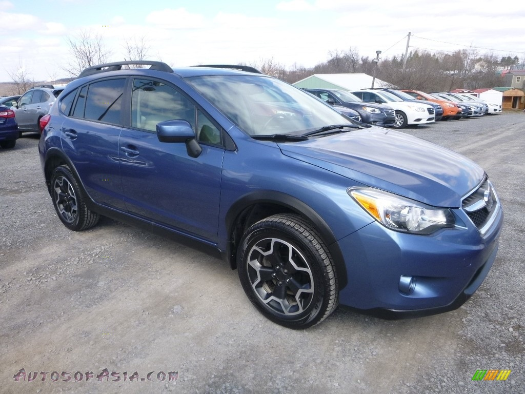 Quartz Blue Pearl / Ivory Subaru XV Crosstrek 2.0i Premium