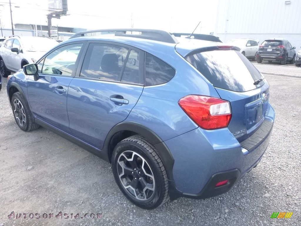 2015 XV Crosstrek 2.0i Premium - Quartz Blue Pearl / Ivory photo #8