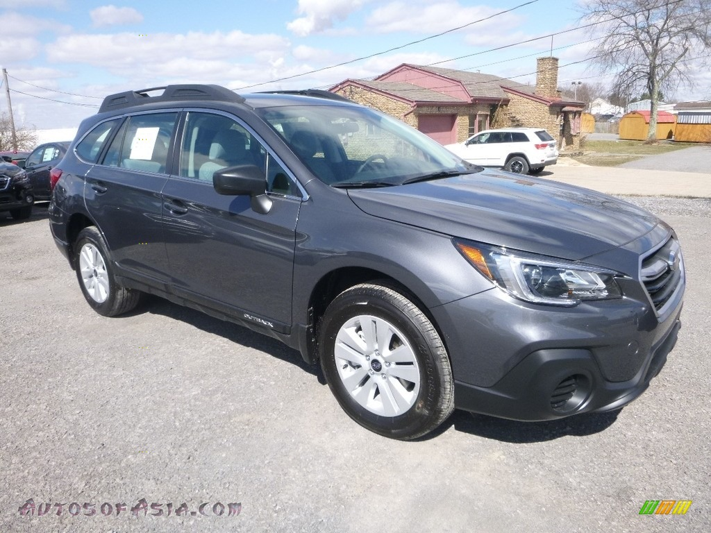 2018 Outback 2.5i - Magnetite Gray Metallic / Black photo #1