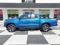 Toyota Tacoma TRD Sport Double Cab 4x4 Blazing Blue Pearl photo #1