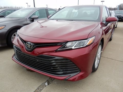 Ruby Flare Pearl 2018 Toyota Camry LE