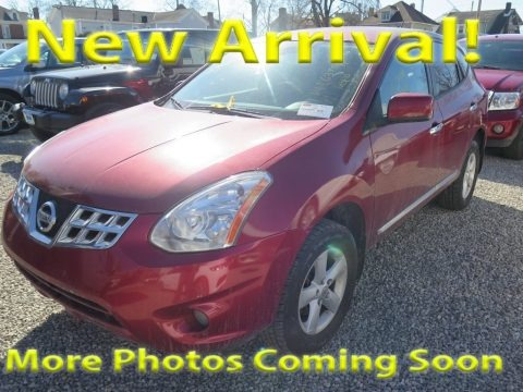 Cayenne Red 2013 Nissan Rogue S AWD